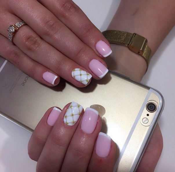 Красивый дизайн ногтей фото на короткие ногти