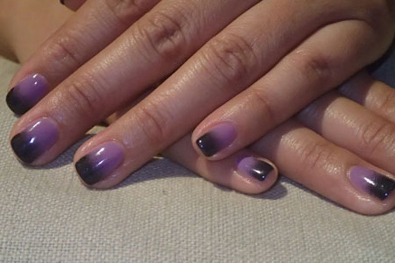 Дизайн гель лаком на коротких ногтях 2017