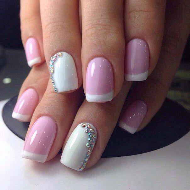 Дизайн ногтей розовые 2017 фото новинки