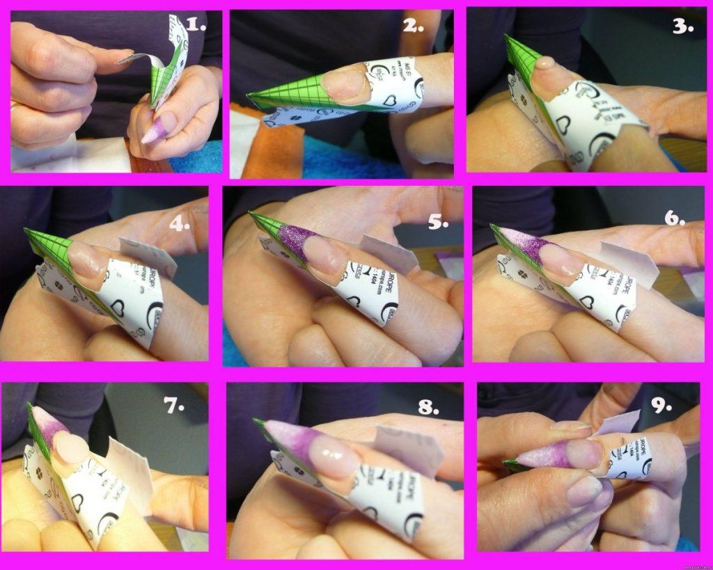 Все о наращивании ногтей поэтапная техника