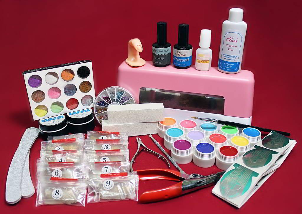 Список материал для наращивания ногтей в домашних условиях 177