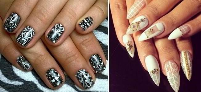 Оригинальный дизайн ногтей гель лак