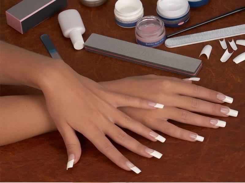 Как сделать в домашних условиях гелевые ногти