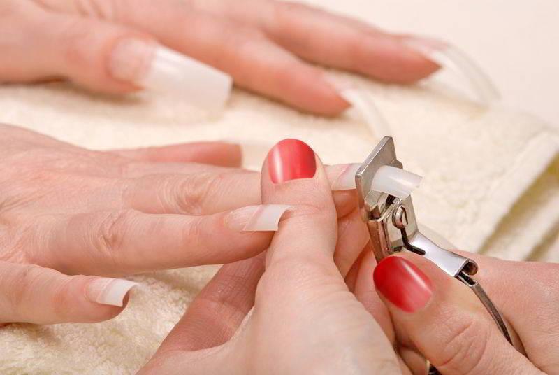 Наращивание ногтей в домашних условиях для начинающих пошагово