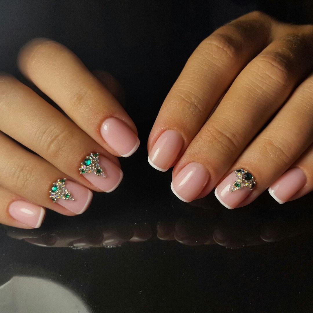 Дизайн ногтей френчи современные идеи