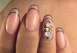 Маникюр на овальные ногти фото