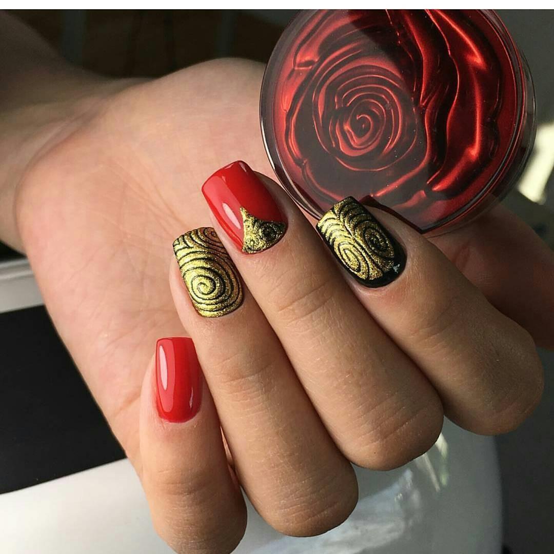 Дизайн стемпингом ногтей 2018 фото новинки