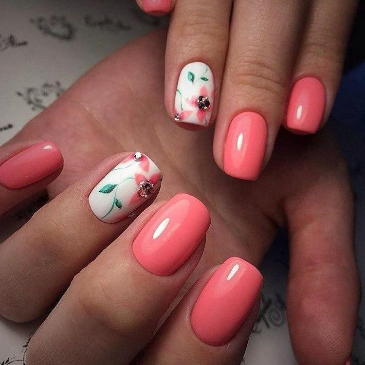 Дизайн ногтей 2017 бежевый цвет