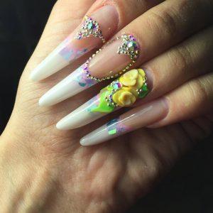 Сложные формы ногтей фото