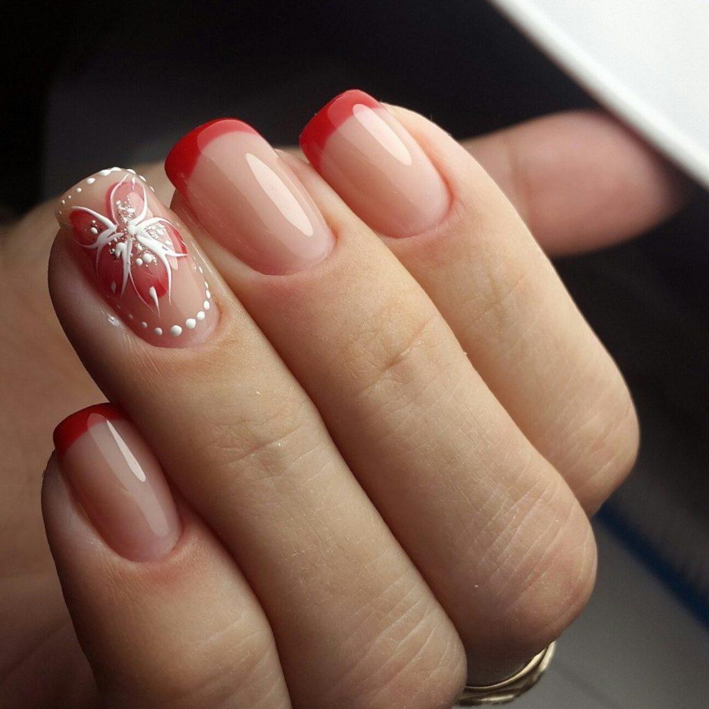 Фото офисного дизайна ногтей