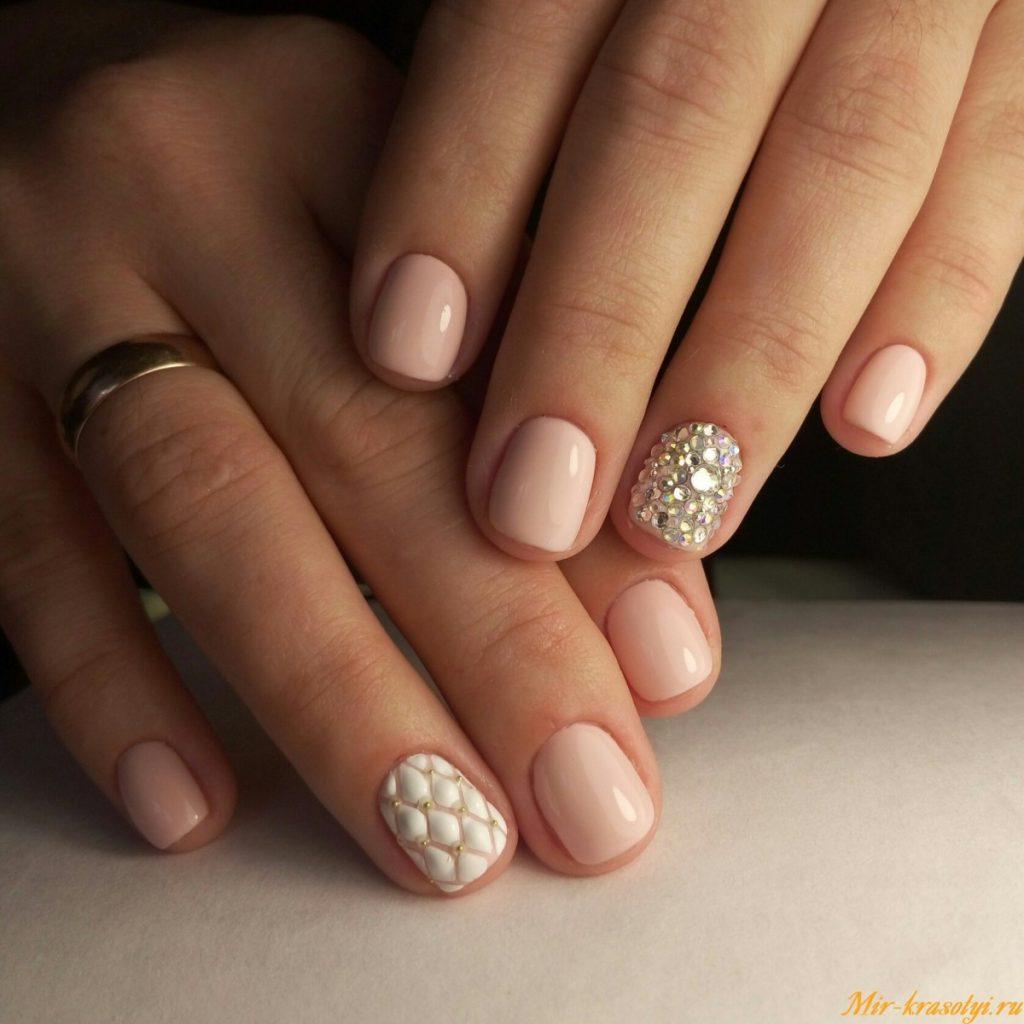 Дизайн ногтей пастельных тонов на короткие ногти дизайн