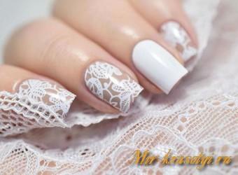 Свадебный маникюр 2017 модные тенденции фото