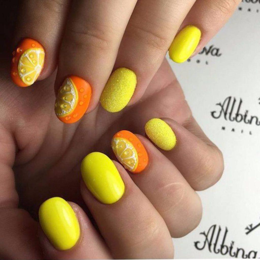 Овальные ногти 2017