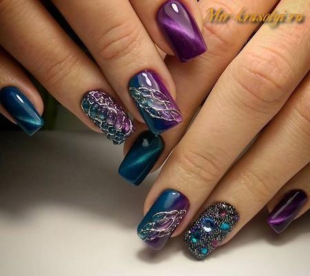 Как сейчас модно красить ногти 142