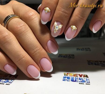 Ногти гель лак дизайн фото 2017 новинки весна фото