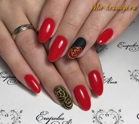 Модный дизайн ногтей 2018 фото