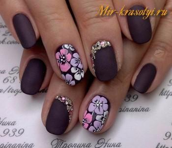 Дизайн ногтей осень зима 2017 2018