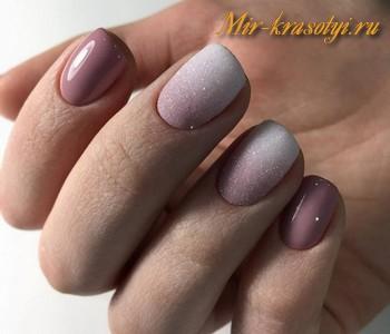 Маникюр 2018 на короткие ногти фото