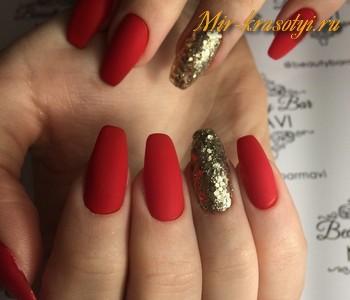 Маникюр на длинные ногти фото дизайн 2018