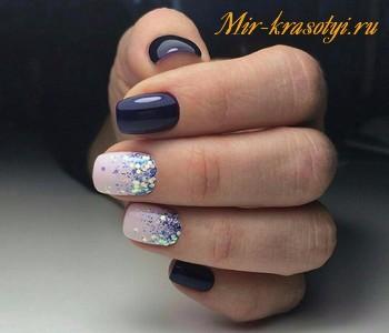 Маникюр весна лето 2018 на короткие ногти