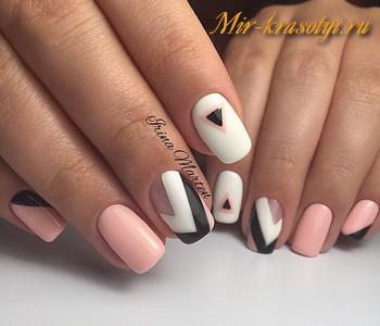 Дизайн ногтей на первое сентября фото