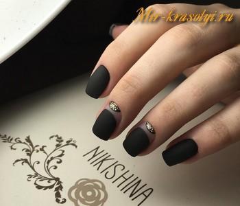 Зимний дизайн ногтей 2017