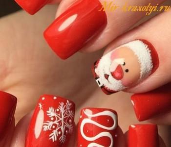 Дизайн ногтей 2017 фото новинки зима