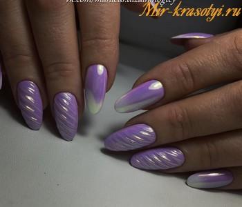 Жемчужные ногти фото дизайн