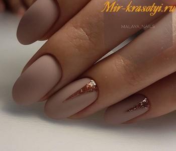 Нежный дизайн ногтей 2018