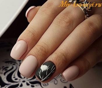 Маникюр на короткие ногти фото дизайн 2018