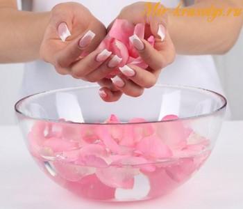 Арочное наращивание ногтей видео
