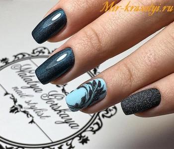 Ногти шеллак дизайн 2018