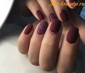 Дизайн ногтей гель лаком фото новинки 2018 на короткие ногти