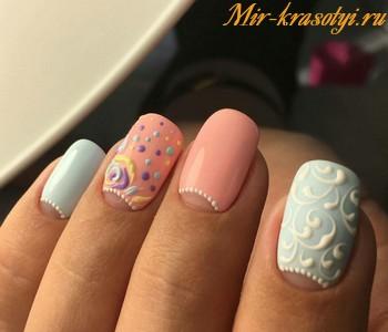 Модный дизайн ногтей 2018 фото новинки красивые