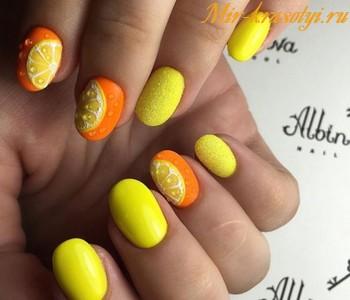 Маникюр на лето 2018 фото на короткие ногти