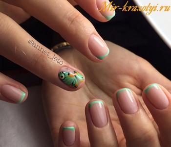 Маникюр весна 2018 модные тенденции фото на короткие ногти