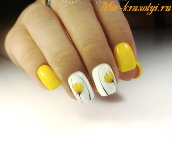 Легкий дизайн ногтей для начинающих гель лаком