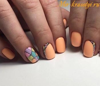 Дизайн ногтей осень 2018 фото новинки