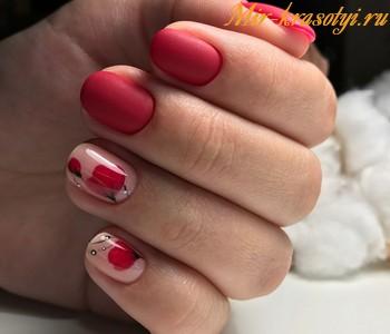 Маникюр на короткие ногти фото дизайн 2019 гель лак