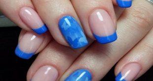 Цвет настроения СИНИЙ! или синие дизайны ногтей весна 2019