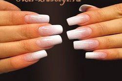 Процедура наращивания ногтей (типсы)