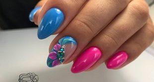 Весенние модные дизайны ногтей весна 2019 года