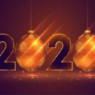 С Новым 2020 годом, вас поздравляет редакция «Мира красоты»!