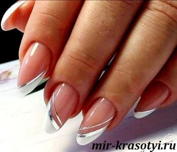 французский дизайн ногтей 2020