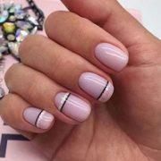 Весенне-летний маникюр на короткие ногти