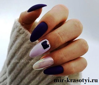 Летний дизайн ногтей с декором