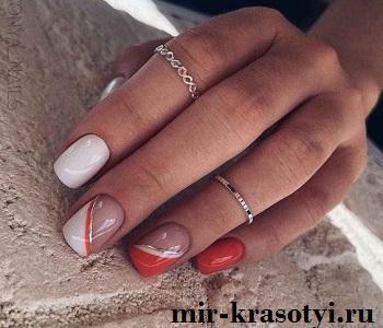 Новинки дизайна ногтей 2022-2023: минимализм