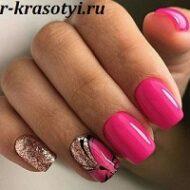 Дизайн ногтей 2022-2023 на короткие ногти
